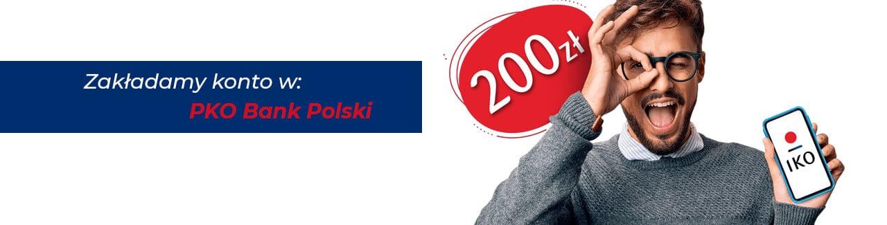Zakładamy Konto Za Zero w PKO Bank Polski