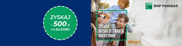 Nawet 500 zł do wydania na Allegro od BNP lipiec - wrzesień 2021 768px