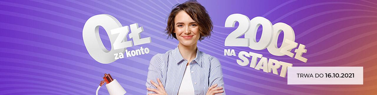 Bezwarunkowo darmowe CitiKonto z bonusem na start 200 zł sierpień - październik 2021 new