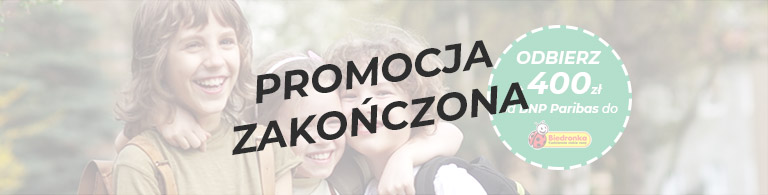 Odbierz 400 zł do Biedronki w promocji Wracamy do Szkoły sierpień - wrzesień 2021 zakończona