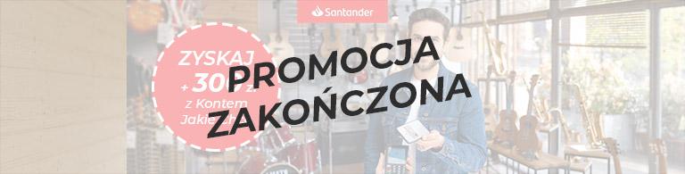 Santander Bank Polska Konto Jakie Chcę premia 300 zł sierpień 2021 zakończona