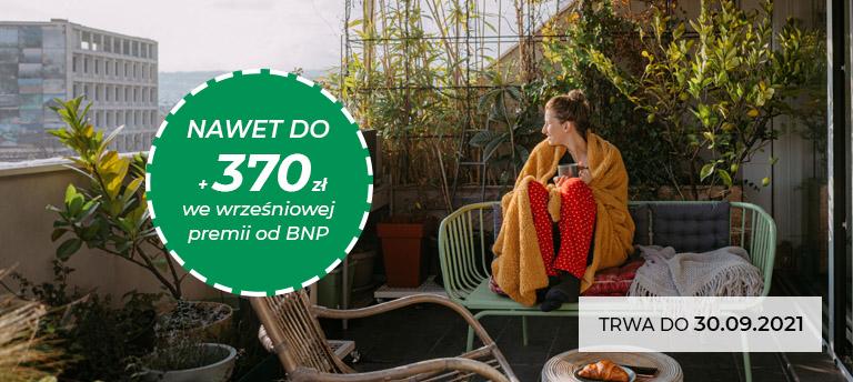 Nawet 370 zł we wrześniowej premii od BNP 768px