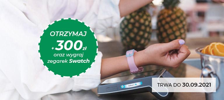 Otrzymaj 300 zł i wygraj zegarek Swatch wrzesień 2021 768px